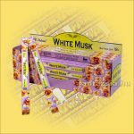 Fehér Pézsma Indiai Füstölő / Tulasi White Musk