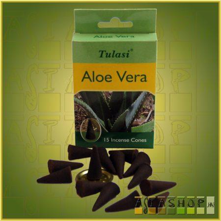 Kúpfüstölő Aloe Vera / Tulasi Aloe Vera Füstölő Kúp