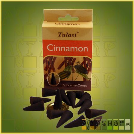 Kúpfüstölő Fahéj / Tulasi Cinnamon Füstölő Kúp