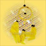 Álomfogó (Álomőrző,Álomcsapda) sárga 6cm