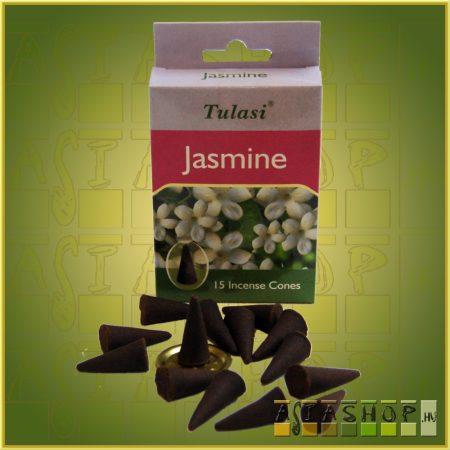 Kúpfüstölő Jázmin / Tulasi Jasmine Füstölő Kúp