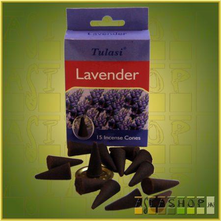 Kúpfüstölő Levendula / Tulasi Lavender Füstölő Kúp