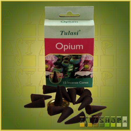Kúpfüstölő Ópium / Tulasi Opium Füstölő Kúp
