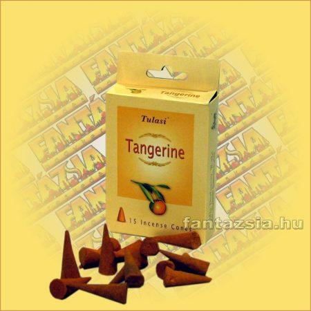 Kúpfüstölő Mandarin / Tulasi Tangerine Füstölő Kúp