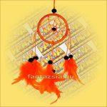 Álomfogó (Álomőrző,Álomcsapda) narancssárga 6cm