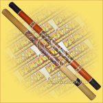 Digeridoo Kézzel festett. Mérete: 6x120cm