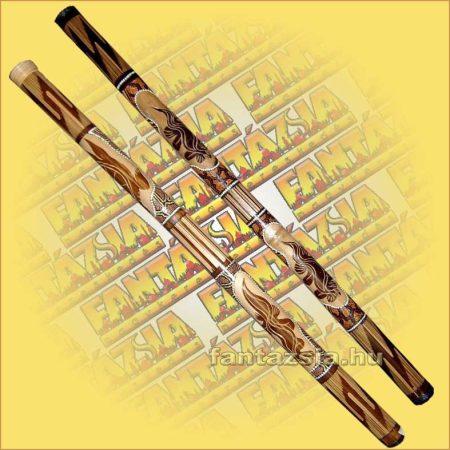Digeridoo Kézzel festett és faragott Mérete:6x120cm