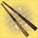 Digeridoo Fából, tölcsér alakú Mérete: 4x9x130cm