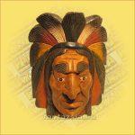 Indián Harcos fej  nagy
