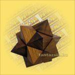 Trópusi Fa Logikai Játék - csillag 114 8x8cm