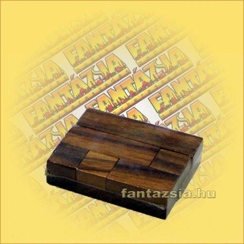 Trópusi Fa Logikai Játék - számkirakó puzzle 6db-os 422 6x8x2cm