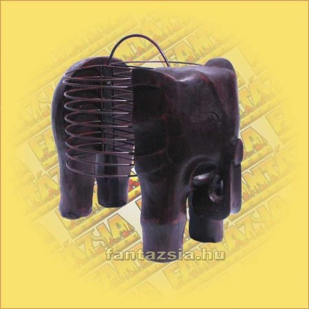 CD Tartó Fémszálból - elefántos