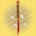 Feng Shui Szerencsehozó Pénzfüzér 9db-os sor