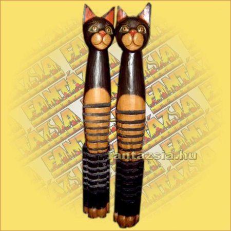 CD Tartó Trópusi Fából macska A