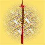 Feng Shui Szerencsehozó Pénzfüzér 9 db-os sor