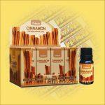 Tulasi Fahéj illatos olaj/Cinnamon Illatos olaj