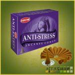 Kúpfüstölő Stresszoldó / HEM Antistress Füstölő Kúp