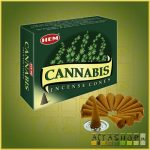 Kúpfüstölő Kender / HEM Cannabis Füstölő Kúp