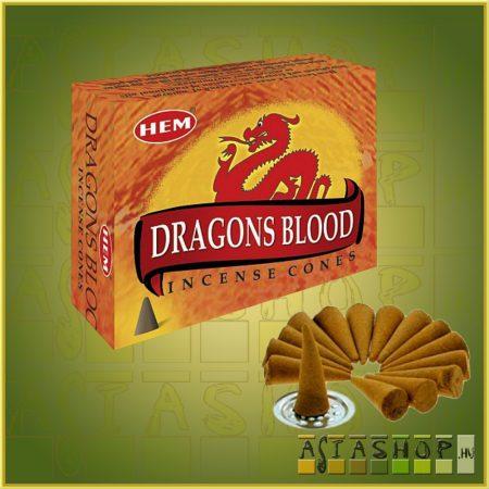 Kúpfüstölő Sárkányvér / HEM Dragons Blood Füstölő Kúp