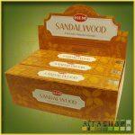 HEM Sandalwood-Natural Series/HEM Szantálfa Maszala Füstölő