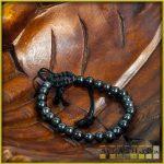 ásvány karkötő - fekete achát