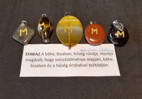 EHWAZ-Rúna medál