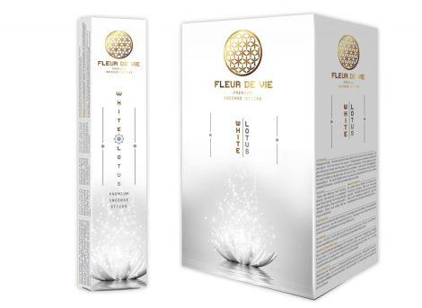 Fleur de Vie White Lotus-Fehér Lótusz Füstölők
