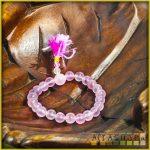 féldrágakő karmala - rózsakvarc