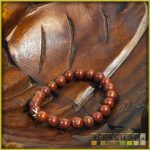 ásvány karkötő - vörös jáspis