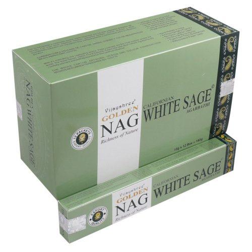 Golden Nag White Sage Masala Füstölő