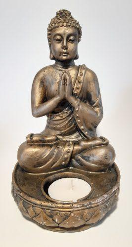 Buddha Imádkozó mécsestartó