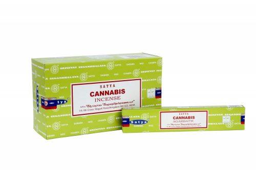 Cannabis-Satya/Indiai Masala Füstölő