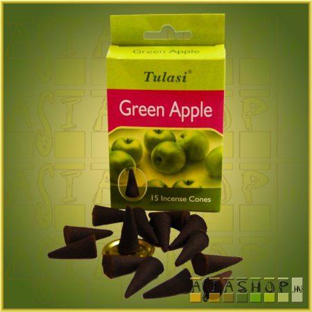 Kúpfüstölő Zöld Alma / Tulasi Green Apple Füstölő Kúp