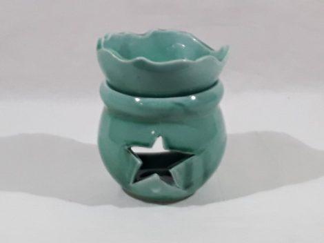 """Aroma Lámpa """"Csillag"""" -Türkiz színű"""