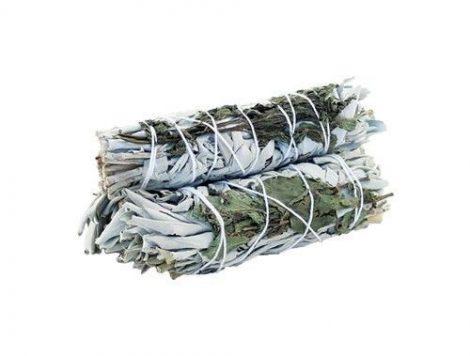 White Sage & Rosemary-Fehér Zsálya Rozmaring köteg
