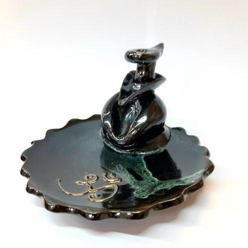 """""""Zen-OM""""-Back Flow-lefelé áramlós-folyékony füst- füstölőtartó"""