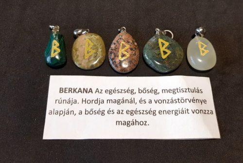 BERKANA-Rúna medál