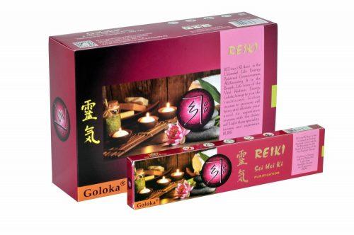 Goloka Reiki Purification-Tisztító masala füstölő