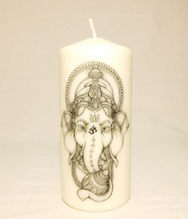 """Ganesha Om"" Gyertya"