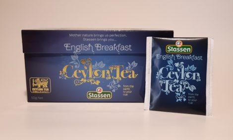 Stassen Englisg Breakfast-Angol Reggeli  Tea filteres