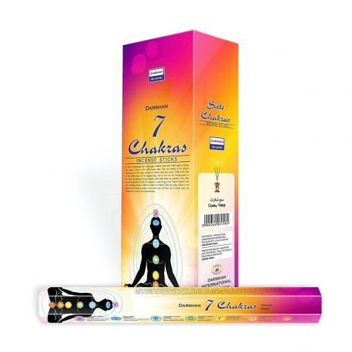 Darshan kollekció-7 Chakras indai füstölő