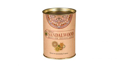 Goloka Sandalwood-Szantálfa- Back Flow Kúpfüstölők