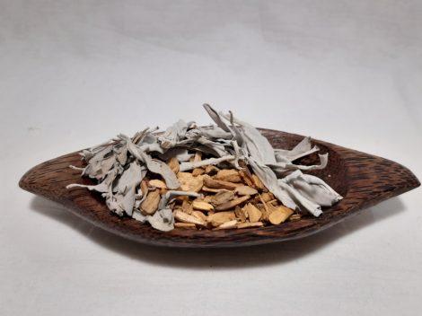 Palo Santo chipsz és Fehér zsálya csomag 20 gr