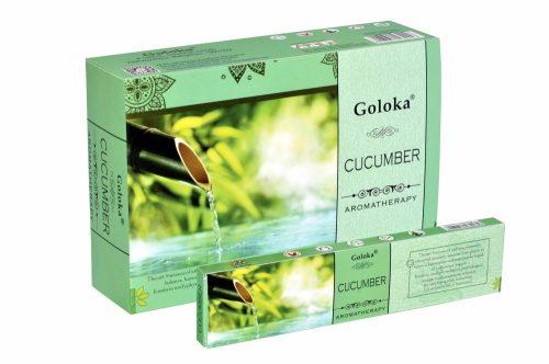 Goloka Aromatherapy Cucumber-Uborka masala füstölő
