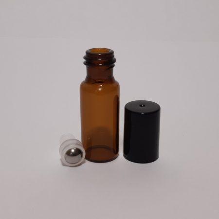 Roll On-5 ml golyós borostyán üveg