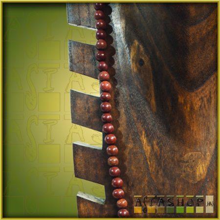 ásvány mala - vörös jáspis