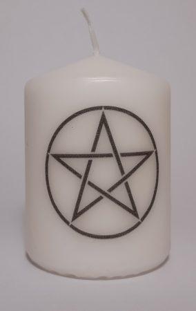 Pentagramma-kicsi gyertya