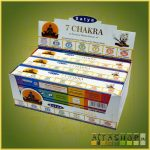Satya 7 Chakra /Indiai Masala Füstölő