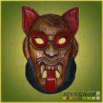 Törzsi Maszk Sátán