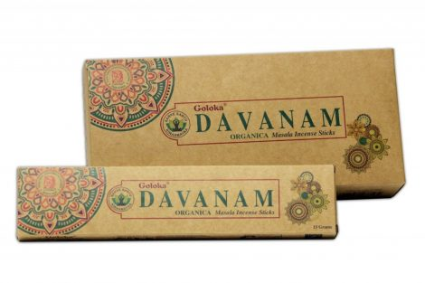 Goloka Davanam-Organikus sorozat  Masala Füstölő